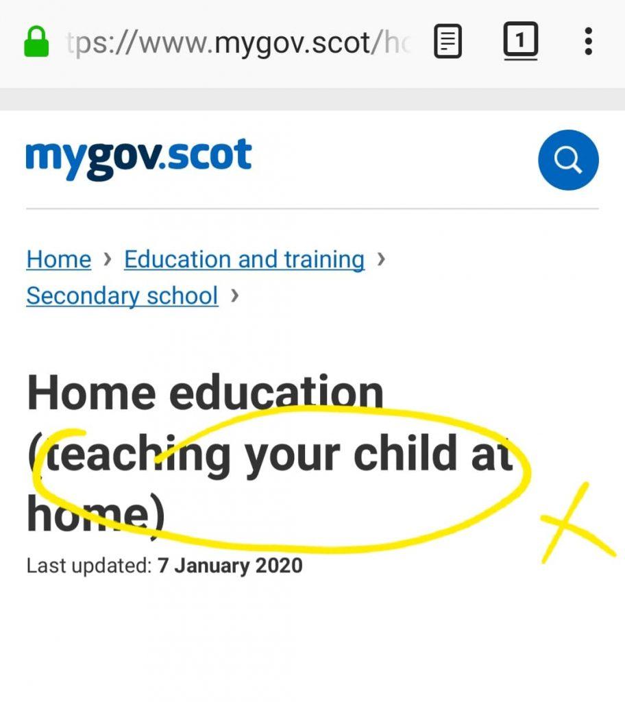 excerpt from myscot.gov